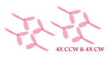 HQProp Durable S Bull Nose Prop 5x4x3PC **PINK** (4x CW, 4x CCW), FREE SHIP