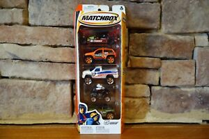 Matchbox-Jeep-and-Dodge-Vehicles-5-Pack-H4107-Model-Year-2005-Collection
