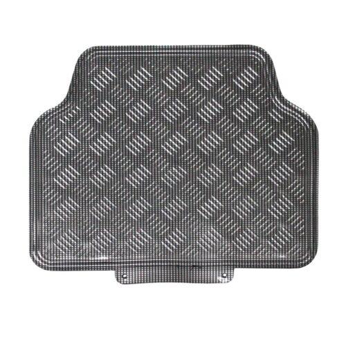4 Pieces JVL Titan Metallic Universal Rubber Backed Car Mat Set Blue