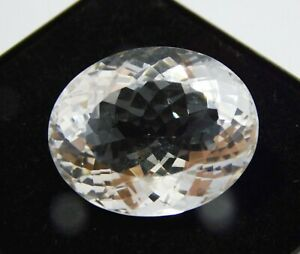 Natural-Certified-Oval-Shape-36-Ct-White-Color-Crystal-Topaz-Loose-Gemstone