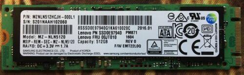 Samsung PM871a 512GB M.2 SSD Solid State Drive MZ-NLN512A SSD SATA 6.0Gbps