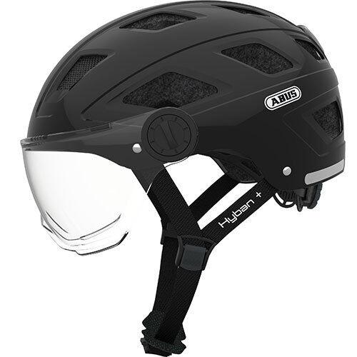 L = 58-63cm Hyban blackclear visor