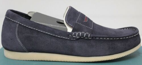 Men/'s Clarks Telford Navy Suede Slip-On Shoes Size 10 63594 Brand New In Box