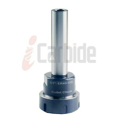 """New 1/"""" Straight Shank Tool Holder C1 ER16 100L Collet Chuck USA SELL"""