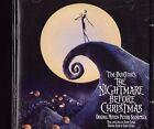 THE NIGHTMARE BEFORE CHRISTMAS TIM BURTON ORIGINAL SOUNDTRACK CD ALBUM