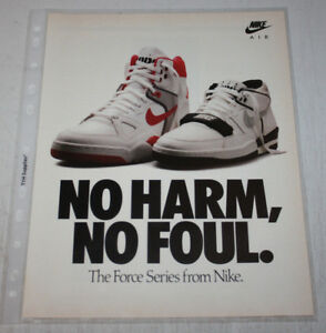 Vintage Nike Air Sneakers Advertising Print Ad Poster 8x10 You