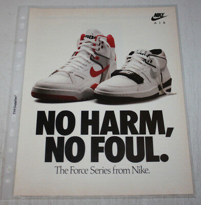 Vintage Nike Air Sneakers Advertising Print Ad Poster 8x10 You Pick Ebay