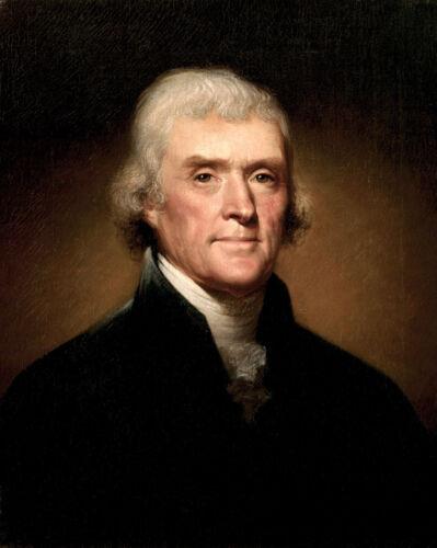 President Thomas Jefferson Portrait Official 8x10 11x14 11x17 13x19  Photo
