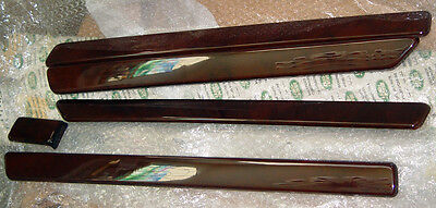 Range Rover P38 OEM 1995-02 Burr Walnut Wood Interior Facia 6 Piece Trim Kit LHD
