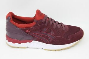 Asics-Men-039-s-Gel-Lyte-V-H6Q4L-5252-Rioja-Red-Rioja-Red-Brand-New