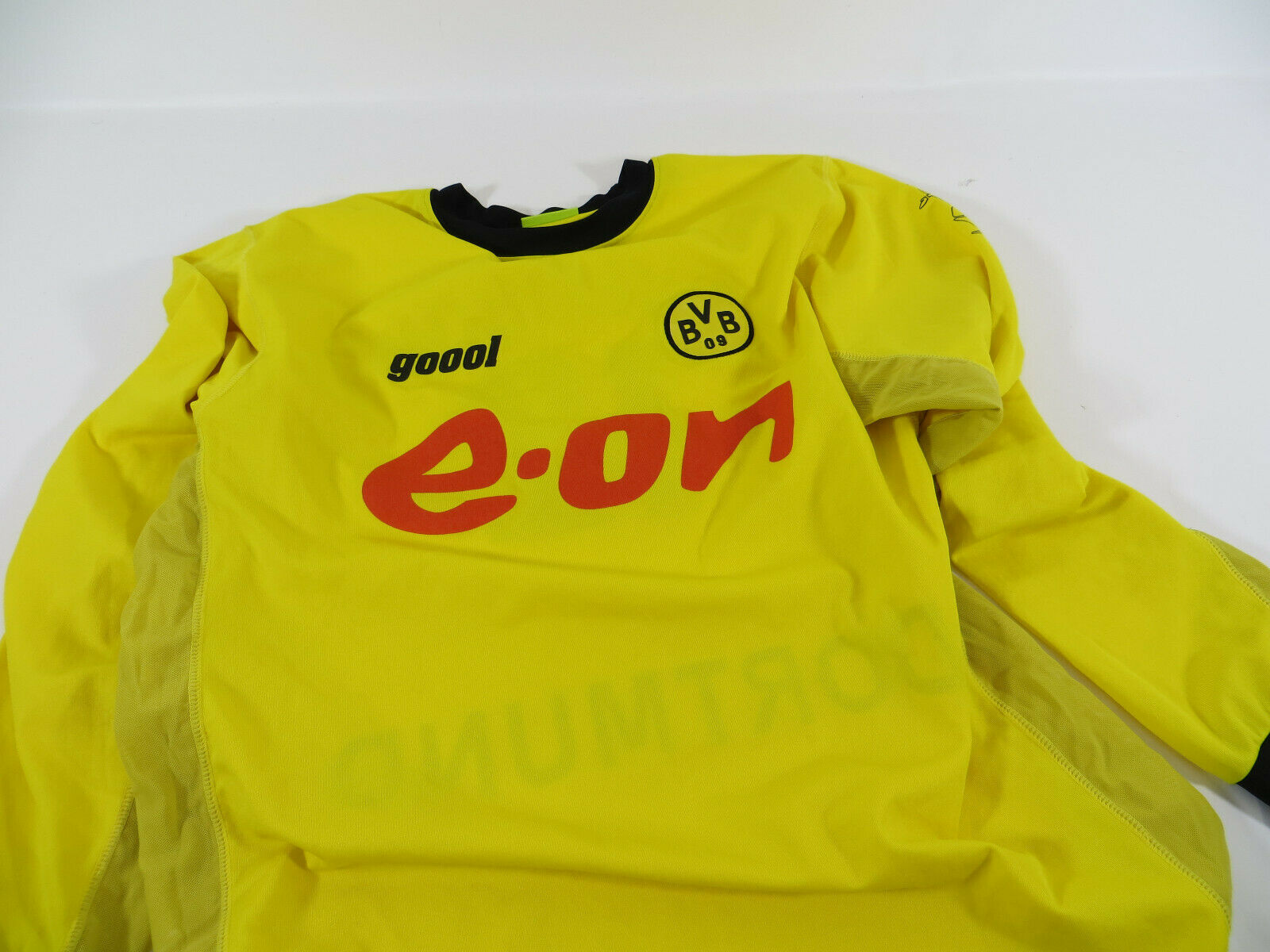 Vintage BVB Borussia Dortmund Trikot Größe S goool Jersey Maillot 2002 Ewerthon