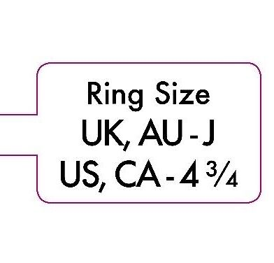 F to Z Extra Strong Jewellery Ring Size Price Stickers Sticky Labels Dumbells
