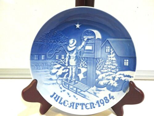 """THE CHRISTMAS LETTER"" 1984 COLLECTOR PLATE"