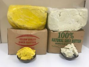 100-RAW-AFRICAN-SHEA-BUTTER-Unrefined-Organic-Pure-GHANA-Choose-SIZE-And-COLOR