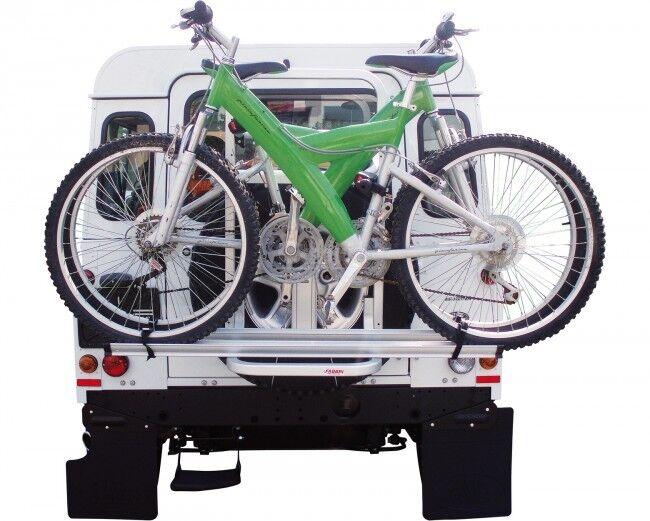 Land Rover Defender bicicleta del neumático de repuesto parrilla de vehículos   FABBRI BICI DE GRINGO