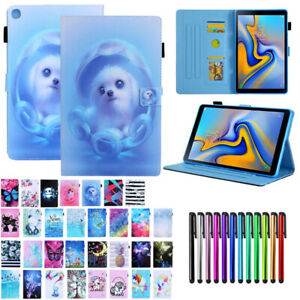 For-Samsung-Tab-A-8-0-2019-SM-T290-T295-Magnetic-Wallet-Leather-Stand-Case-Cover
