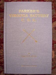 PARKER'S VIRGINIA BATTERY C.S.A. - CIVIL WAR - BRAND NEW - BY ROBERT K. KRICK
