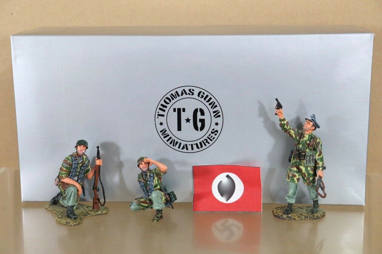 THOMAS GUNN STGM009A GERMAN INFANTRY WWII WWII D-DAY NORMANDY STUKAS ABOVE SET nu