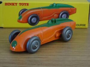 ATLAS-DINKY-toys-auto-de-course-arancione-amp-Verde-Modello-di-auto-da-corsa-23A3
