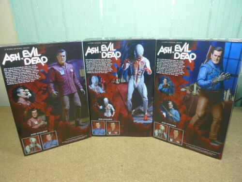 Neca Ash Williams vs Evil Dead Series 1 Set of 3 Hero Value Stop Eligos figures