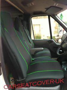Vw Transporter T4 T5 T6 Heavy Duty Green Trim Van Seat Covers Single Double Ebay