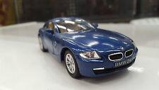 BMW Z4 azul kinsmart modelo juguete 1/32 escala coche de metal regalo presente