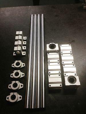 x4 12mm Rails*500mm x4 SK12 x4 SHF12 x8 SC12UU CNC Axis, Custom 3d Printer