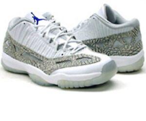 Retro Mens Nib Ds Nike Xi Low Air 11 306008 142 Zen Jordan Cobalt Sz vw08mNnO