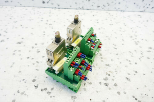 25-1 módulo-set of 2 2x Phoenix Contact umk-se11