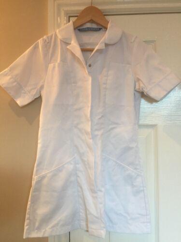 Boyd Cooper Womens White Nurse Carer Vet Healthcare Tunic Size 6