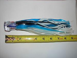 "3 Chugger 9/"" Big Game TROLLING FISHING LURE Tuna Saltwater Wahoo Marlin Lot"