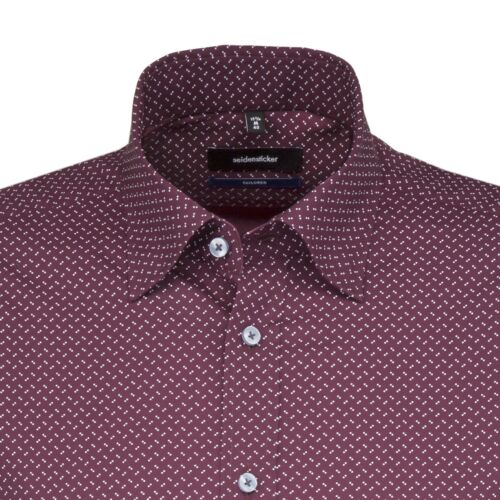 Seidensticker Uomo Camicia Manica Lunga Business tailored Button-Down Colletto BD
