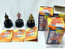 New RANA Return of Ultra-Man Bot-Biz Set of 3 Bottle Cap mini Figure 1971 Rare
