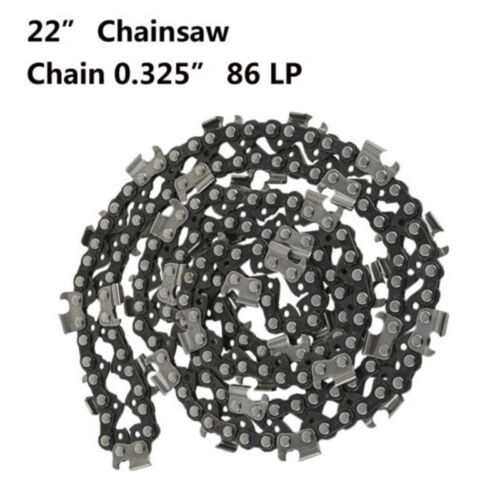"22 Inch Saw Chain Blade 0.325/"" LP Pitch 0.058 Gauge 86DL Drive Link For Chainsaw"