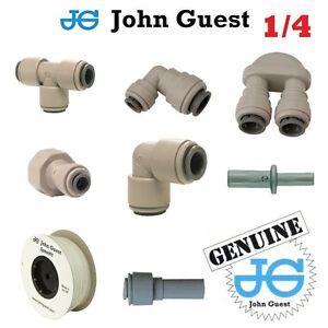 1-4-034-John-Guest-A-Emboiter-Raccords-Pneumatiques-Pour-L-039-eau-Air