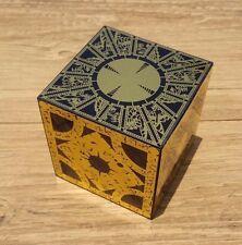 HELLRAISER PUZZLE BOX SOLID WOOD LAMENT CUBE HORROR FOIL FACE Originator PROP