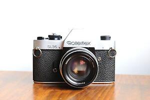 ROLLEI-Rolleiflex-SL35-35mm-film-camera-w-Carl-Zeiss-PLANAR-50mm-f-1-8-Lens