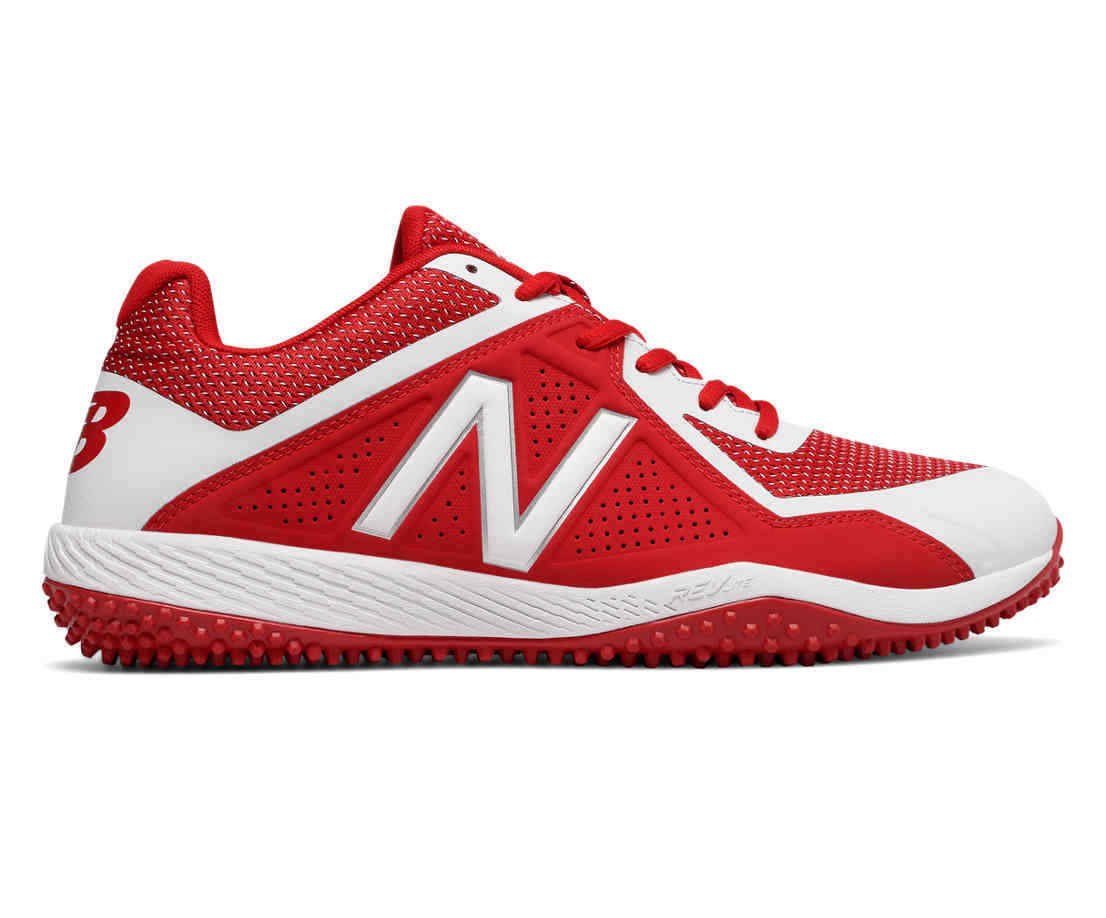 New Balance T4040v4 Men's Turf shoes Red