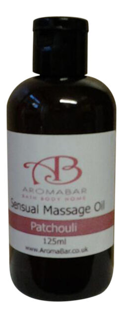 MASSAGE OIL 125ML SWEET ALMOND *CHOOSE ESSENTIAL OIL BLEND* by Aromabar