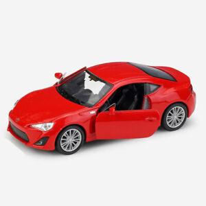 TOYOTA 86 modello IN SCALA 1:36 auto metal Diecast regalo Veicolo Giocattolo Bambini Pull Back Rosso