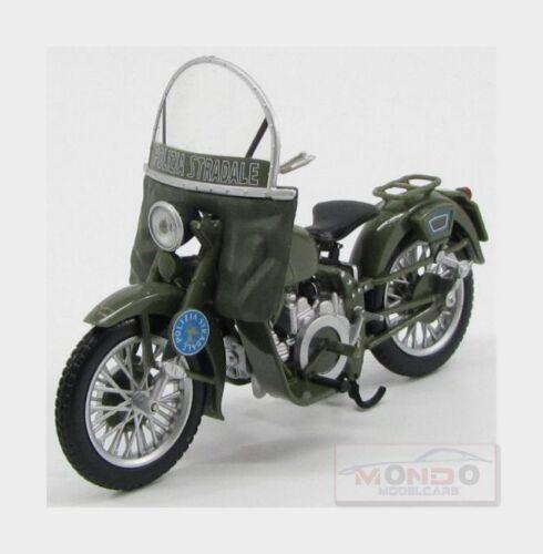 Moto Guzzi Falcone 500 Polizia 1967 Motorcycle EDICOLA 1:24 ITAPOLC043