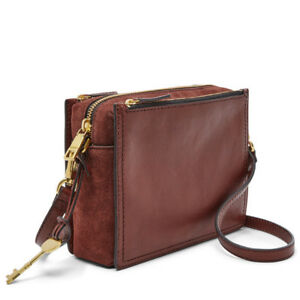 Image Is Loading Fossil Women 039 S Campbell Crossbody Bag Zb7592227