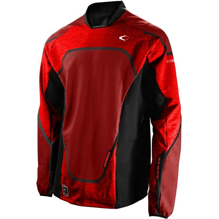 CARBON CC Paintball Jersey rosso