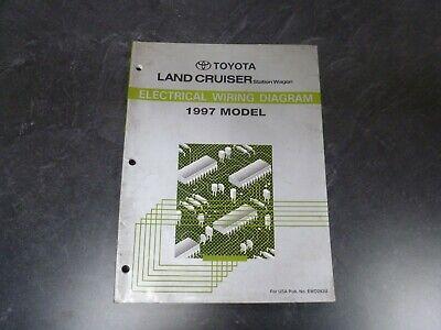 1997 Toyota Land Cruiser Electrical Wiring Diagrams Manual ...