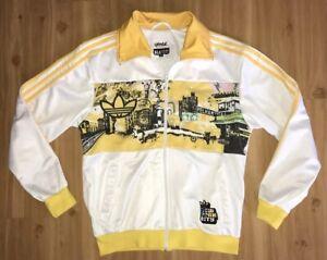 MEN'S ADIDAS ADICOLOR track jacket NEW YORK CITY Bill