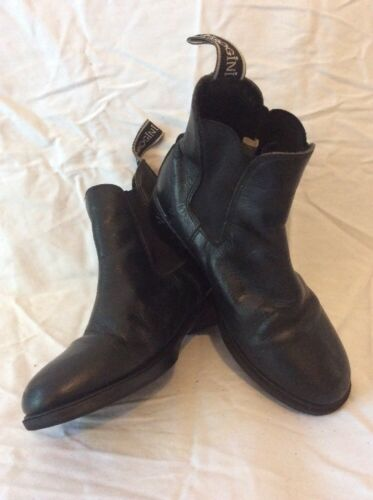 Leather 36 Black Ankle Size Boots Brogini WFYzTRvw