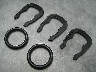 8 Pc Kit Ships Fast! Coolant Outlet Water Sensor O-Rings /& Clips for Audi VW