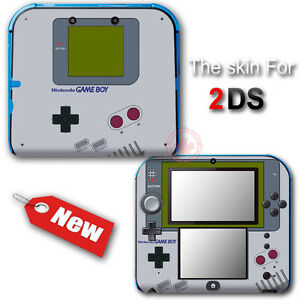 Original Game Boy Classic Edition Skin Sticker Decal Cover 2 For Nintendo 2ds Ebay
