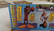Sports Illustrated for kids March 1999 Michael Jordan Finger Puppet still in mag