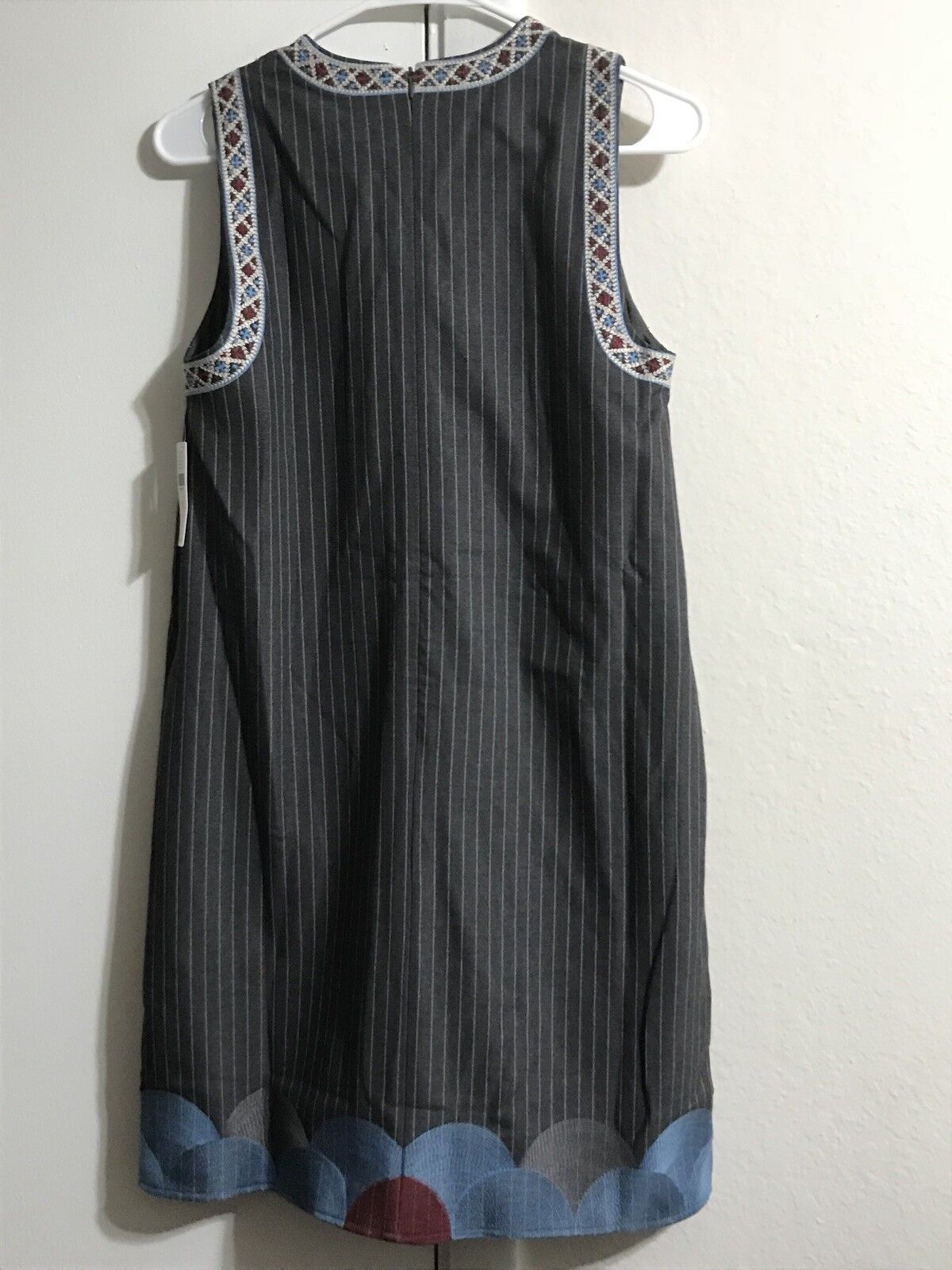 228 NWT NWT NWT Anthropologie Pinstriped Shift Dress S By Foxiedox efebd5